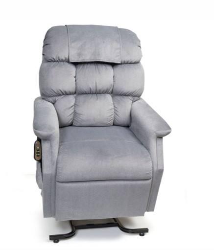 Power Lift Chair - Cambridge Small Medium Power Lift Chair Recliner-gray