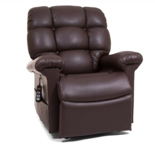 Power Lift Chair - Cloud with Twilight Medium Large Power Lift Chair Recliner