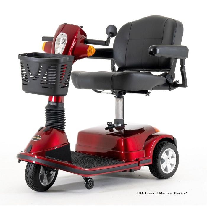 SC900-elevating seat - Maxima 3 wheel PES beauty