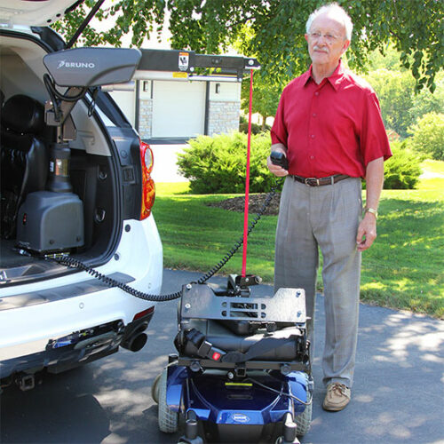 Bruno Curb-Sider® Scooter Lift