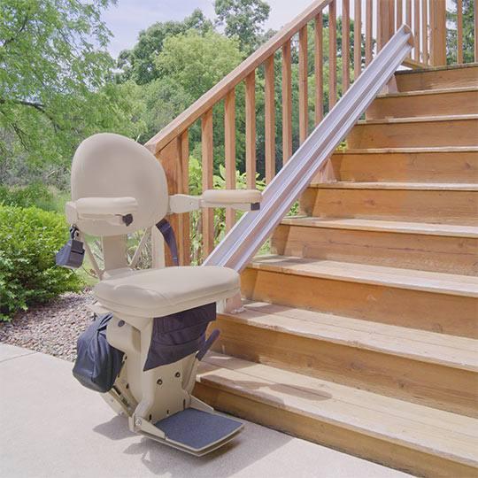 Bruno Elan Outdoor Stair Lift